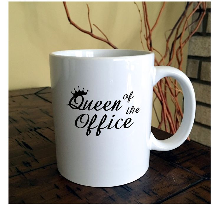 office coffee cups. queen of the office coffee mug administrative professionals day coworker cups w