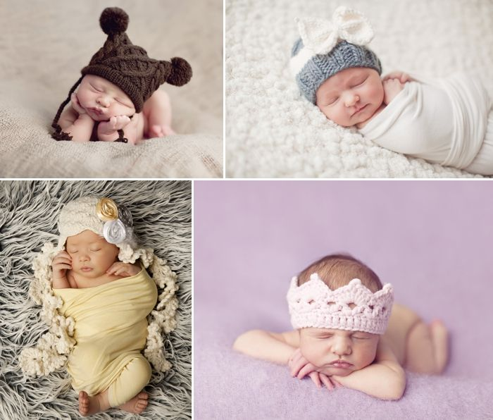 Knit Newborn Hats From Layla Grayce on the @LaylaGrayce Blog #laylagrayce #blog: Babies, Blog Laylagrayc, Newborns Hats, Bows Hats, Crowns, Annie Hats, Baby Knits, Baby Someday, My Baby Girls