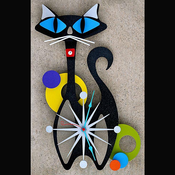 Stevo Cambronne's Atomic, Modern, Retro Metal Art, Metal Sculpture and Metal Tiki Bar Art
