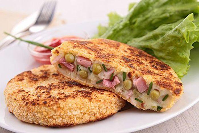 Pastelitos de Patata y Verduras Te enseñamos a cocinar recetas fáciles cómo la receta de Pastelitos de Patata y Verduras y muchas otras recetas de cocina..