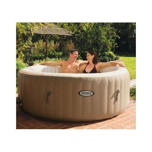 new inflatable portable hot tub tubs pool pools blow up. Black Bedroom Furniture Sets. Home Design Ideas