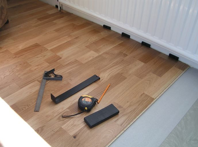 Laminate And Engineered Floor Fitting Kit Includes 10mm Spacers A