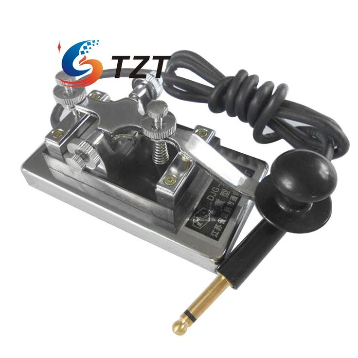 >> Click to Buy << MORSE CODE TRAINER Shortwave Radio Telegraph Key CW Radio K4 Key Chamber Props #Affiliate