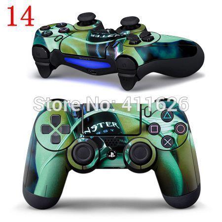 Сексуальная зеленый современная девушка логотип для PS4 Контроллер Наклейка PS4 Контроллер 15 шт./лот