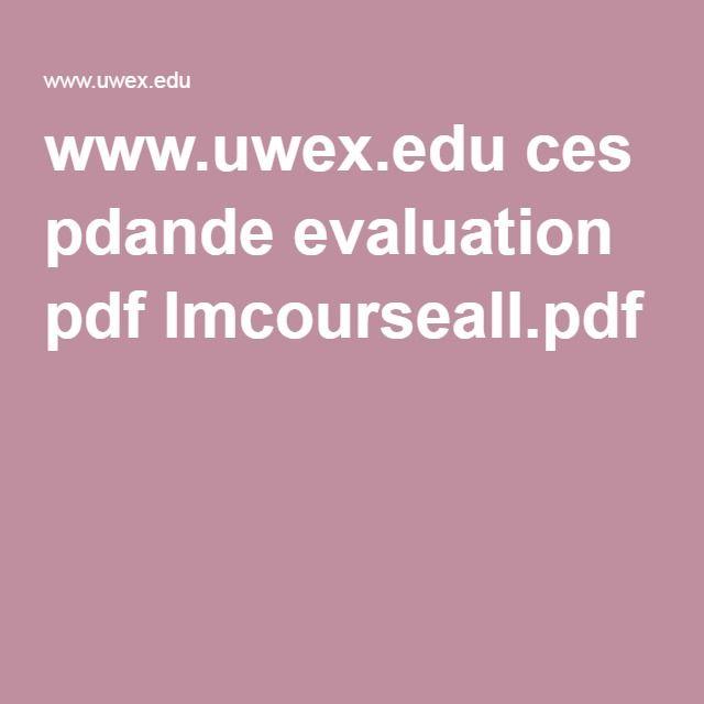 19 best Program Evaluation images on Pinterest Program - program evaluation