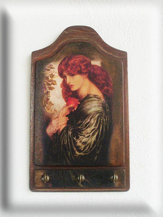 PROSERPINE  Wooden Key Holder