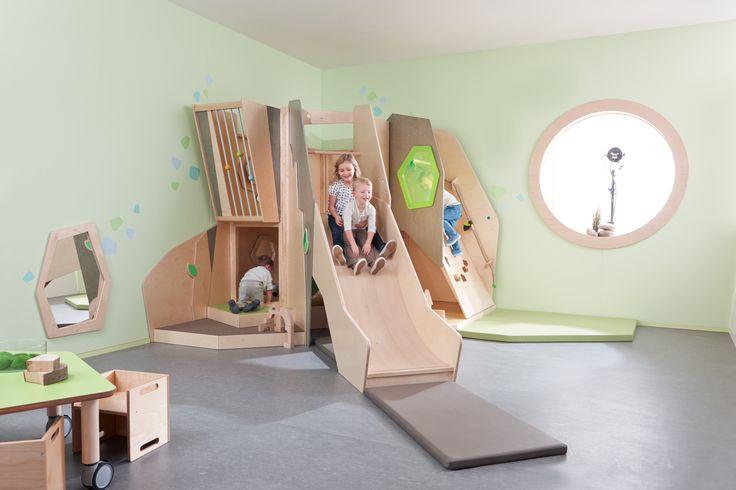 Structure de jeu Grow Upp, le château des aventures
