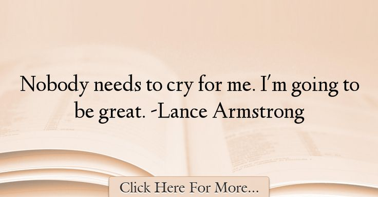 Lance Armstrong Quotes About Great - 31371
