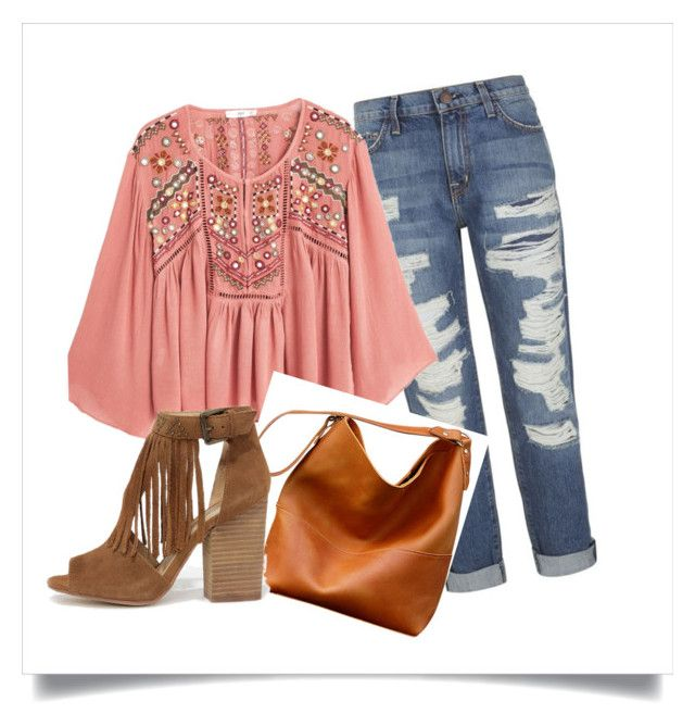 Boho 01 by jenifer-mendes on Polyvore featuring MANGO, Current/Elliott and Chinese Laundry