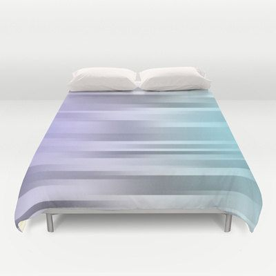 "Purple - Gray - Blue Bed Cover - Bed Spread - Duvet Cover - Duvet Cover Only - Bedding - Ombre - Made to Order This duvet cover is done in original art - purple - Gray - Blue - Motion  Original Art Design Duvet Cover - (insert not included)  This item is ""MADE TO ORDER""  DESCRIPTION: Original Photograph Duvet Cover - (insert not included) Ultra soft microfiber duvet covers. Hand sewn and meticulously crafted, lightweight duvet covers light cream reverse side A durable and hidden zipper…"