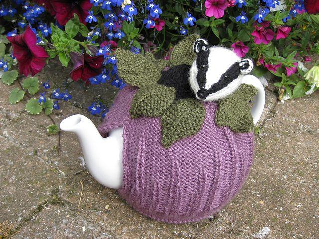 Badger Tea cosy by Lindsay Mudd