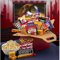Blockbuster Night Movie Care Package with RedBox Gift Card