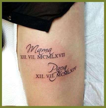 Tattoo Datum