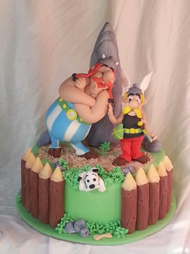 Astrix e Obelix cake