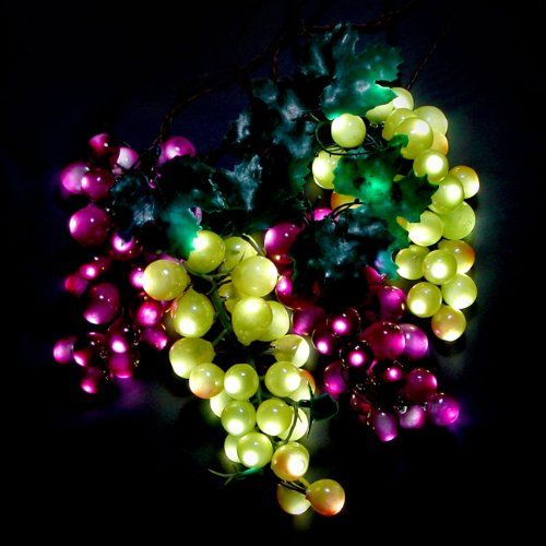 Led Grape Cluster String Lights : Pinterest