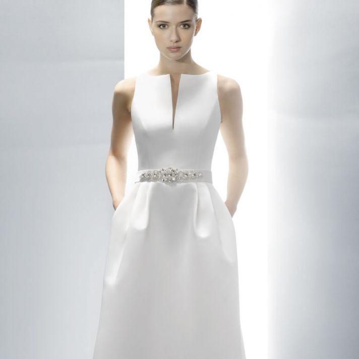 Structured Wedding Dresses 92