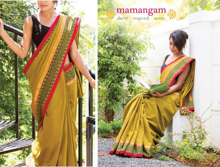 Timeless,Classic weaves#handloomsarees#block prited blouse#mantra