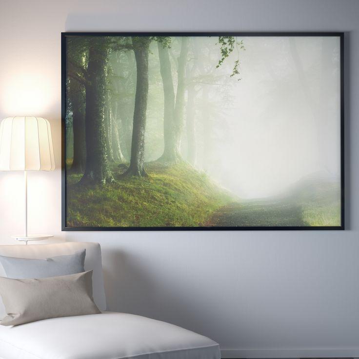 25 beste idee n over bos schilderij op pinterest natuurschilderijen boom schilderijen en - Decoratie interieur trap schilderij ...