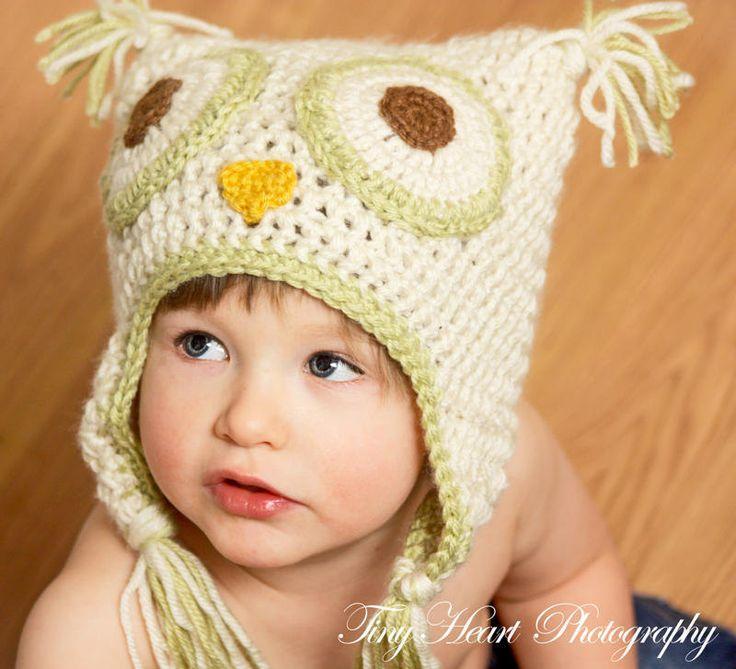 18 besten eule mütze Bilder auf Pinterest | Beanie mütze, Stricken ...