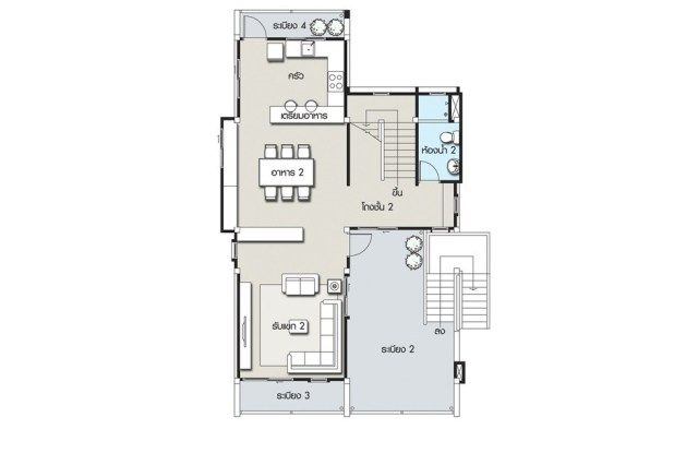 House Design Plan 8x12 5m With 3 Bedrooms Home Ideassearch Home Design Plans House Design Bedroom House Plans