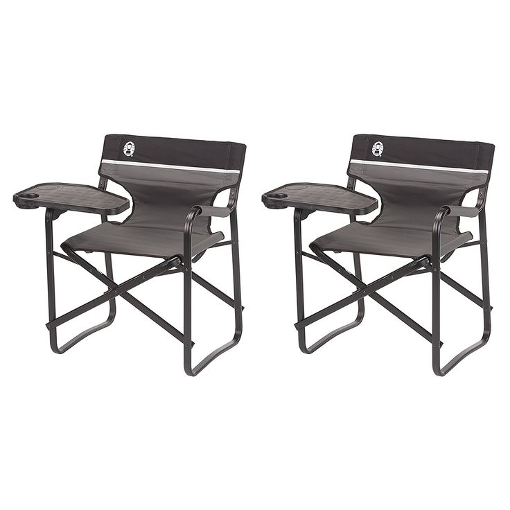 Coleman Aluminum Chairs   Swivel Table and Drink Holder, 2-Pack | 2 x 2000020295 >>> You can get more details here : Camping Furniture