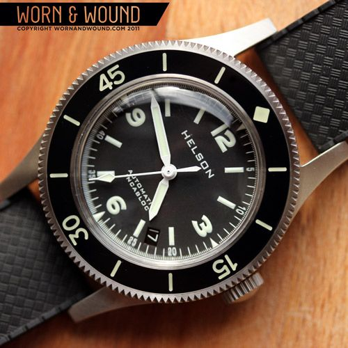 worn&wound | Review: Helson Skindiver