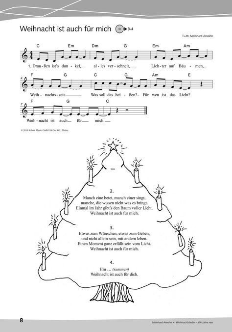 Weihnachtslieder – alle Jahre neu – Patrizia Bucher