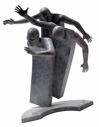 Original bronze sculpture by Jean Louis Corby - I've never seen this artist before ... love his work!