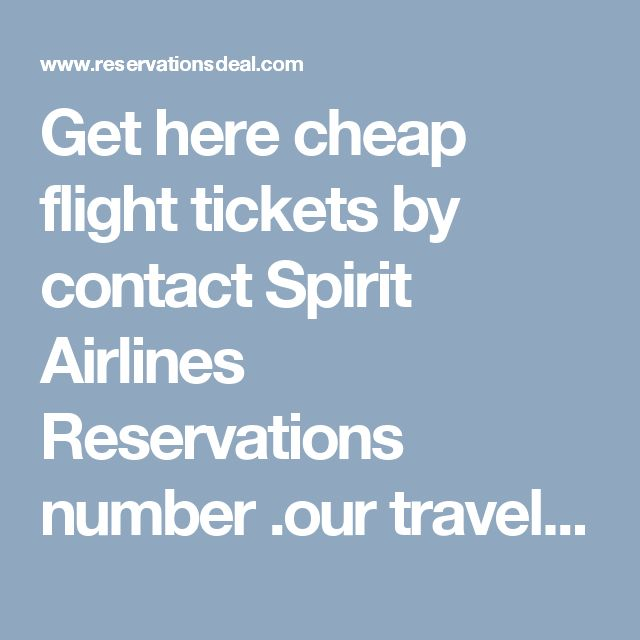 Get here cheap flight tickets by contact Spirit Airlines Reservations number .our travel agent provides last minutes flight deals for online booking