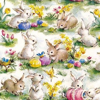 Miniature Easter wrapping paper .pdf's from http://www.miniatursite.fr/libres (French)