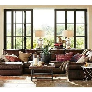 Best 25 white leather couches ideas on pinterest for Bartlett caramel left corner chaise sectional