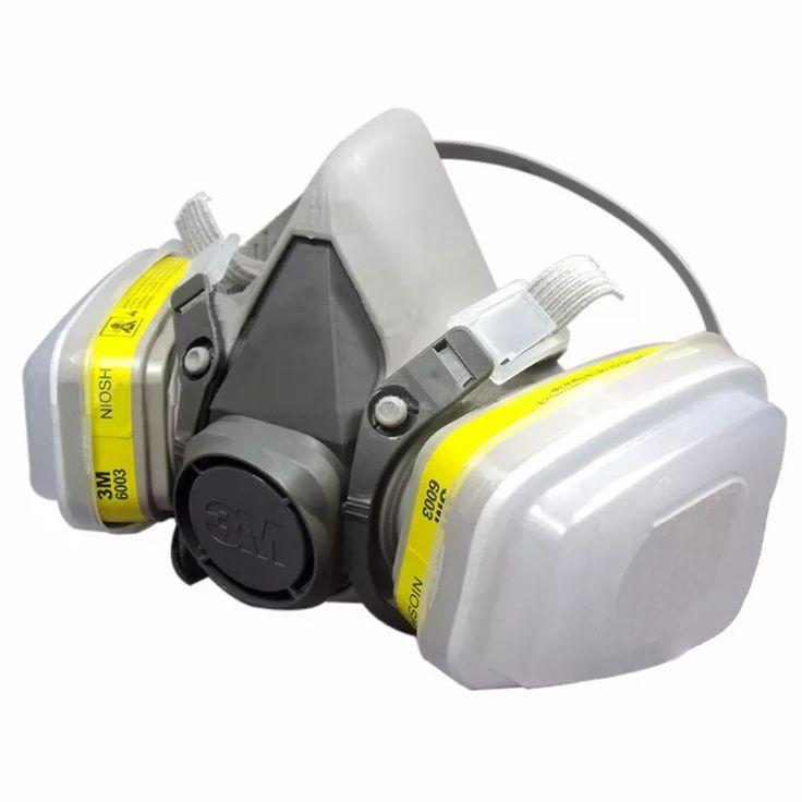 mascara 3m 6200 y filtros 6003 prefiltros y retenedores