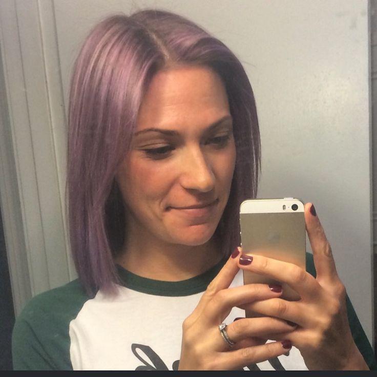 Pastel lavender hair color #hairbykellyn
