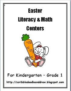 Printable Easter worksheets and activities for kindergarten