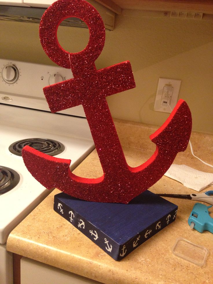 Best 25 anchor centerpiece ideas on pinterest nautical for Anchor decoration party