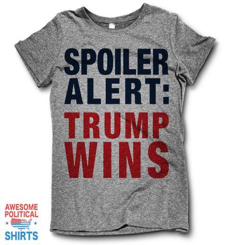 Spoiler Alert: Trump Wins