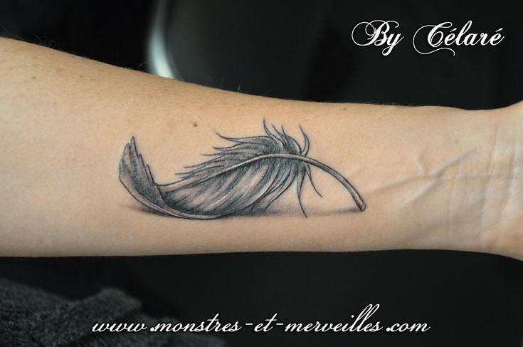 Best 25 plume tattoo ideas on pinterest feather tattoos - Tattoo avant bras ...