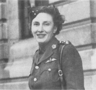 Rosamund in uniform