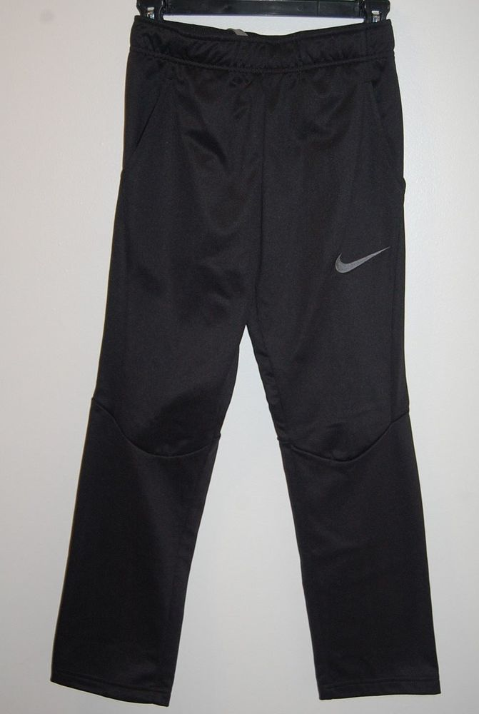 9facbef5e2da New Boys Nike Therma Training Pants (827778-010) M L XL (choose size )  Black  fashion  clothing  shoes  accessories  kidsclothingshoesaccs   ...