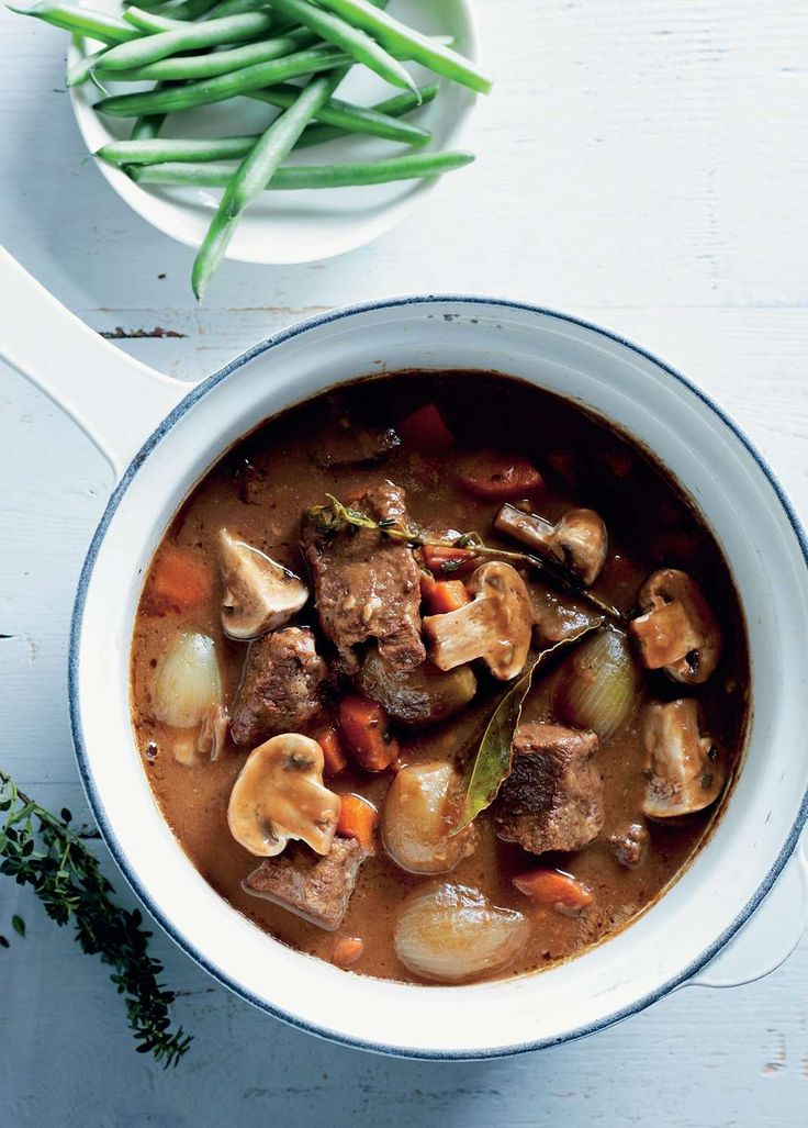 Classic beef casserole by Tiffiny Hall from Tiffiny's Lighten Up Cookbook | Cooked