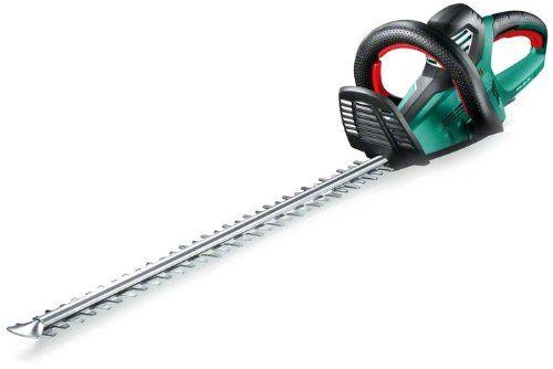 Bosch taille-haie AHS XX-34: Puissance absorbée : 700 W Messerlänge : 700 mm Dimensions du produit : (L x l x h) 123 x 23,5 x 22 cm…