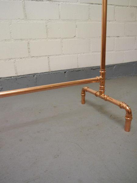 kupfer kleiderst nder industriedesign copper copper and. Black Bedroom Furniture Sets. Home Design Ideas