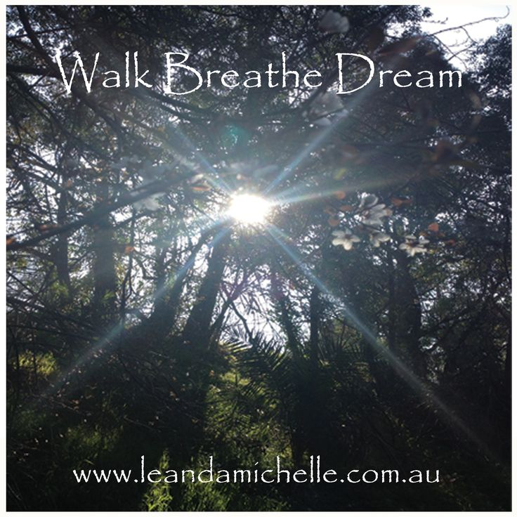 """Walk, Breathe, Dream"" on the Anniversary Circle Walking Trail Booroondarra, Melbourne VIC"