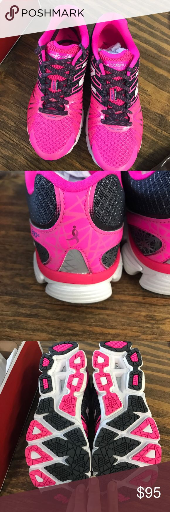 NWT size 8.5 limited edition Susan G Komen shoes NWT limited edition Susan G Komen New Balance brand size 8.5 women's running shoe. This is a rare one of a kind shoe! Run in your race for a cure in style! New Balance Shoes