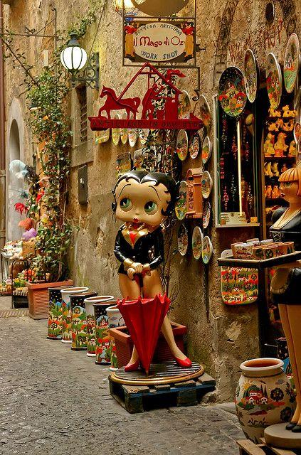Artisan Shop in Orvieto, Italy