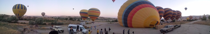 air baloons. Capadoccia, Turkey