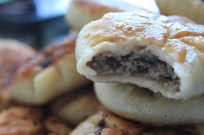 how to cook chinese meat pie