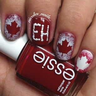 OH Canada! Nails