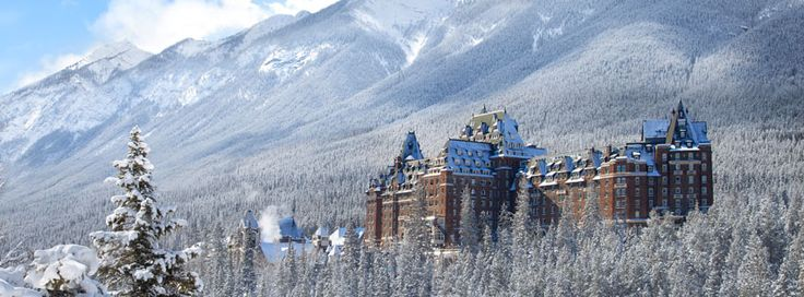 A young bride was tragically killed on her wedding day in a freak accident on the marble staircase at Fairmont Banff.  Today the hotel still reports mysterious, chilling breezes on the starircase, and strange sightings of a beautiful woman in a flowing white dress descending the stairs or dancing in the ballroom.