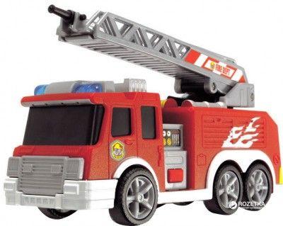 Машинка Dickie Пожежна служба зі звуком, світлом і водним ефектом 15 см (3302002)